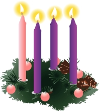 Advent Candles Christian Cliparts